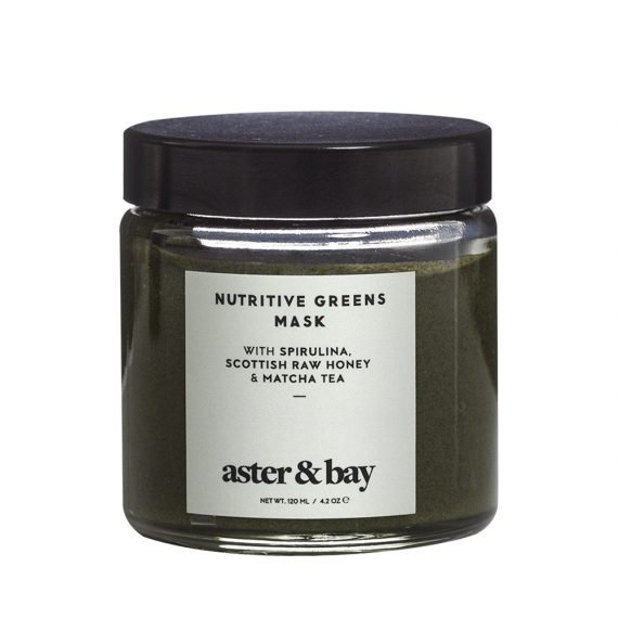 Aster & Bay Nutritive Greens Mask -kasvokuorinta