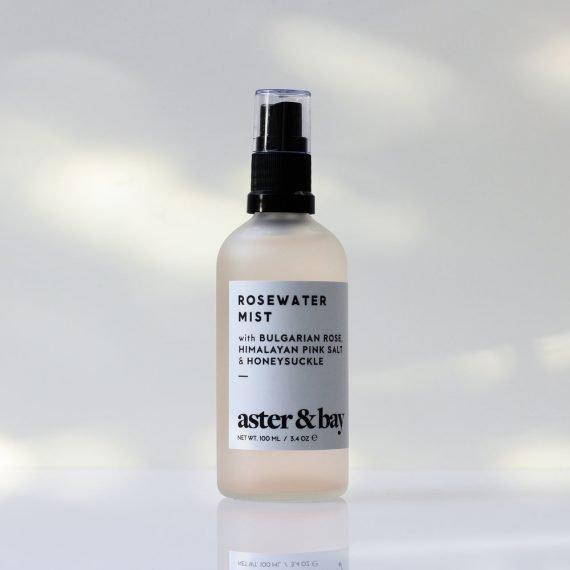 Aster & Bay Rosewater Mist -ruusuvesi