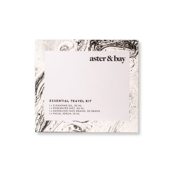 Aster & Bay Travel Kit -matkapakkaus