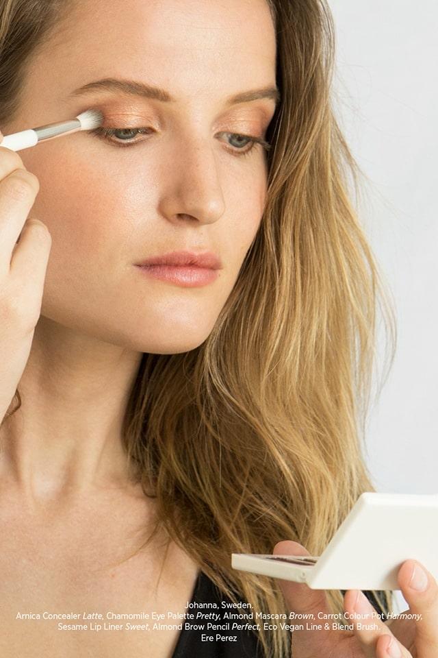 Ere Perez Chamomile Eye Palette luomiväripaletti – Pretty