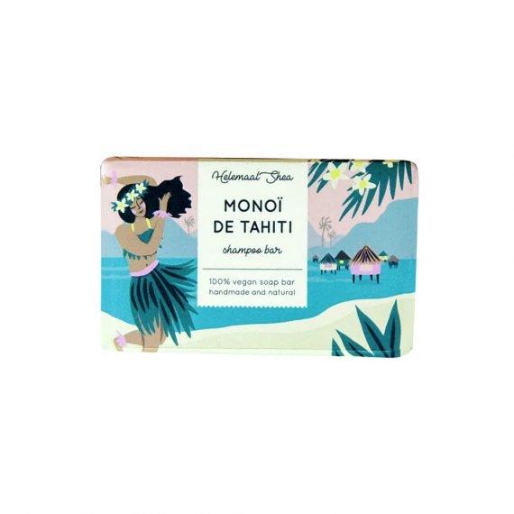 HelemaalShea Monoï de Tahiti Shampoo Bar - kiinteä palashampoo