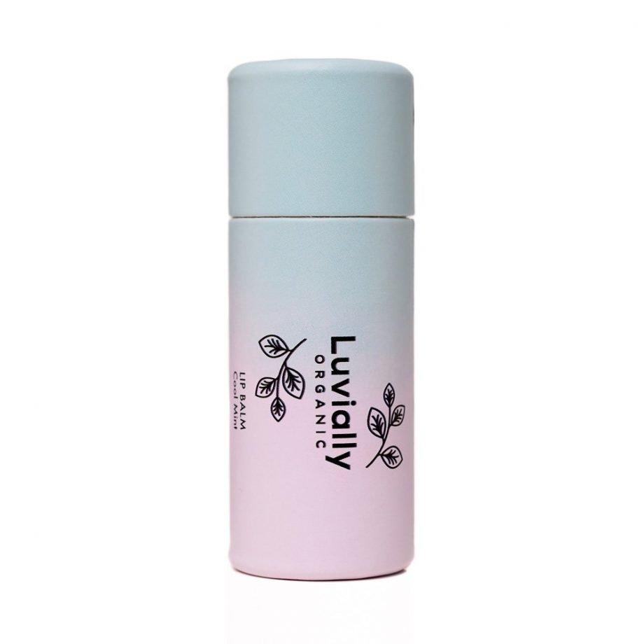 Luvially Organic Lip Balm Cool Mint luonnollinen huulivoide