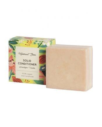 HelemaalShea Vanilja palahoitoaine Solid Conditioner kaikille hiustyypeille