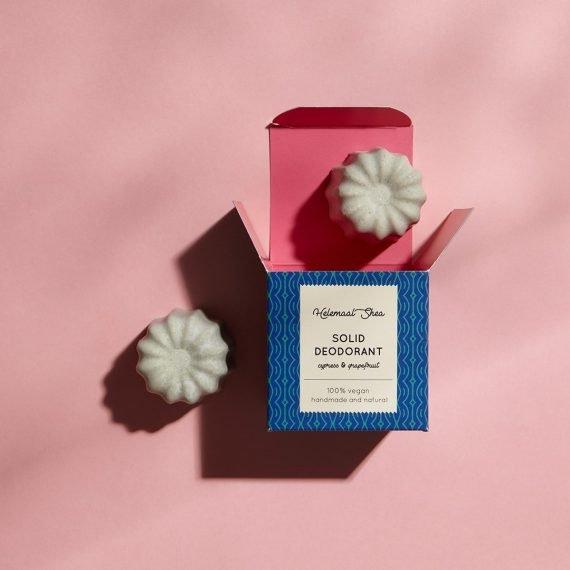 HelemaalShea Solid Deodorant Cypress & Grapefruit kiinteä deodorantti