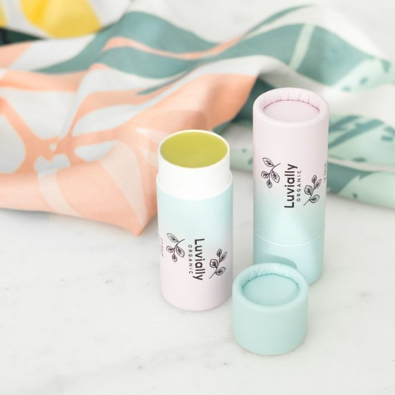 Luvially Organic Lip Balm Cool Mint huulivoide