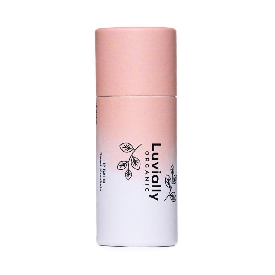 Luvially Organic Lip Balm Sweet Mandarin -luonnollinen huulivoide