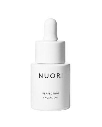 NUORI perfecting facial oil luonnonkosmetiikka ja vegaaninen kasvoöljy.