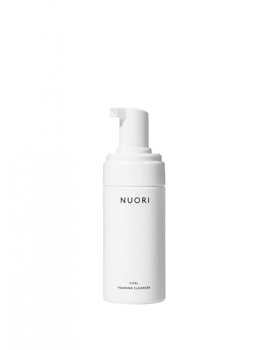NUORI Vital Foaming Cleansen luonnonkosmetiikka kasvojen puhdistusvaahto