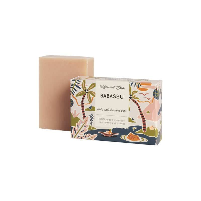 HelemaalShea Babassu Body & Shampoo bar herkälle iholle