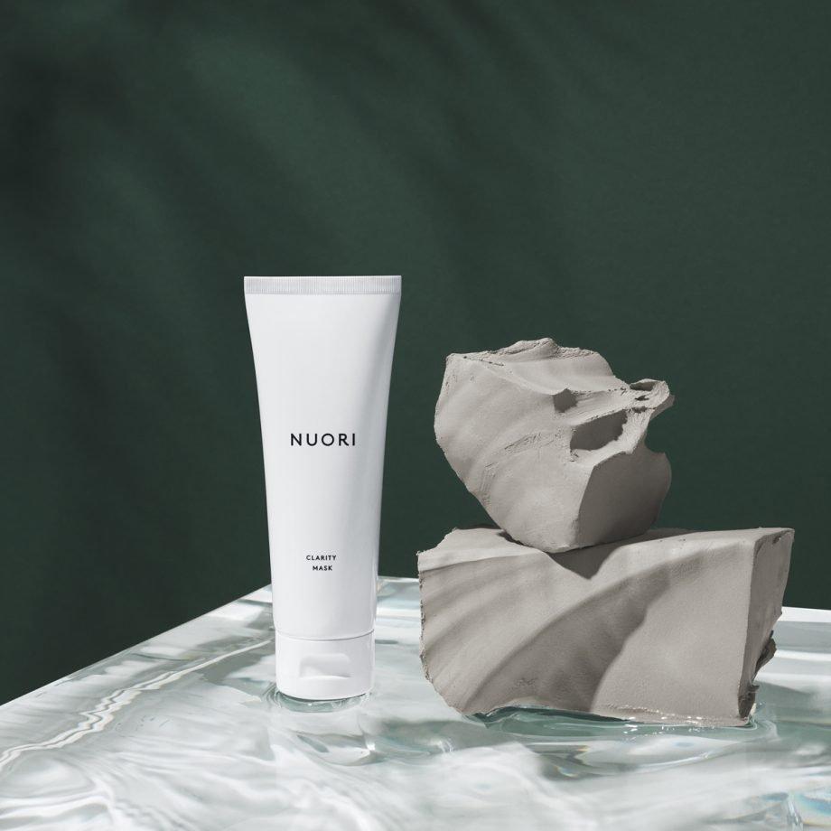 NUORI Clarity Mask kosteuttava ja puhdistava savinaamio