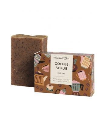 HelemaalShea Coffee Scrub kahvikuorinta kuorintasaippua